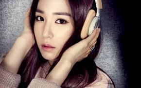 Картинка девушка, музыка, азиатка, Tiffany, SNSD, Girls Generation, Южная Корея, Kpop