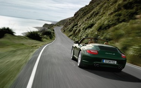 Обои S Cabriolet, Porsche, 911 Carrera