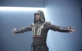 Обои ассасин, Assassin's Creed, Michael Fassbender, Майкл Фассбендер, Кредо убийцы, Callum Lynch, Aguilar