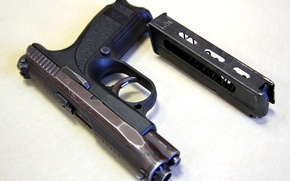 Картинка машина, класс, pistol, good, reliable, Russian, ГШ-18, data, short barrel, performance, interesting, достойная, domestic, comfortable, …