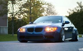 Картинка BMW, E92, wide body