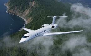 Обои Aerospace G550, Gulfstream, showing