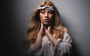 Картинка взгляд, модель, Scarlett Jane
