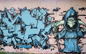 Картинка стена, рисунок, графити