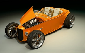 Картинка графика, Ford, concept, арт, hot rod, dangeruss, Sinclair