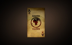 Картинка Карта, Земля, Текстура, Earth, Туз