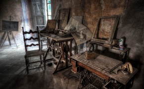 Картинка фон, комната, мастерская