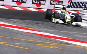Картинка Formula 1, Button, BGP001, BrawnGP
