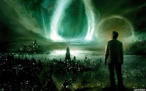 Картинка ночь, города, ситуации, фантастика