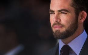 Картинка лицо, актер, мужчина, chris pine