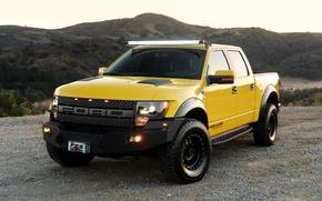 Картинка Ford, 2010, форд, Hennessey, 600, VelociRaptor