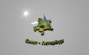 Картинка город, карта, санкт-петербург, мирок