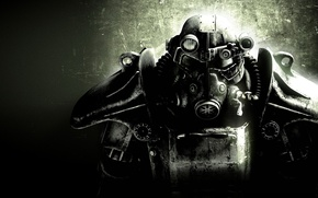 Обои броня, fallout 3