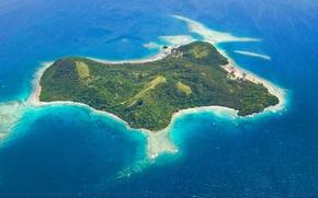 Обои wakaya island, pacific ocean, lawedua, fiji