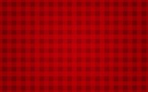 Обои Manchester United, gingham, Red Devil, texture, minimalism