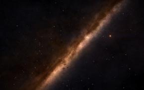 Картинка Космос, млечный путь, дальний космос