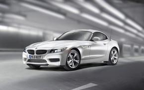 Обои серебро, BMW