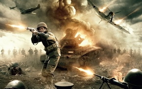 Картинка cinema, explosion, fire, flame, gun, soldier, sky, weapon, war, dust, man, army, fight, movie, american, …