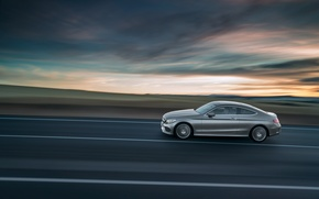 Картинка Mercedes-Benz, мерседес, AMG, Coupe, C-Klasse, 2015, C205