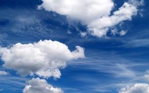Обои clouds nature, пейзаж, облака