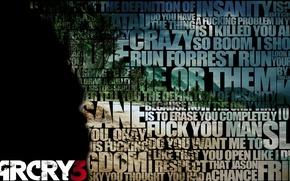 Картинка Игры, Слова, Far Cry 3, Фар Край