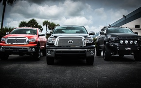 Картинка toyota, carbon, usa, truck, wrap, devolro, Toyota tundra, tundra