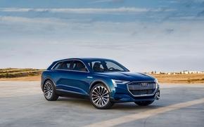 Обои ауди, Concept, E-tron, концепт, Audi