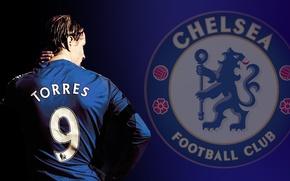 Обои фернандо торрес, Fernando Torres, Chelsea
