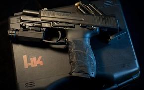 Картинка пистолет, оружие, Heckler & Koch, P30