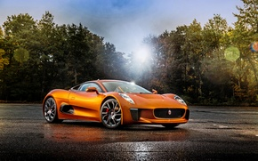 Картинка Jaguar, спектр, ягуар, суперкар, C-X75, 007 Spectre