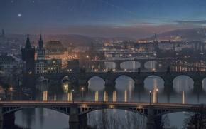 Картинка мост, Прага, Чехия