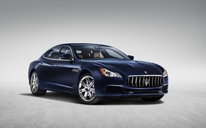 Картинка обои, Maserati, Quattroporte, автомобиль, седан, мазерати, Granlusso