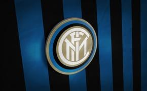 Картинка wallpaper, sport, Italy, football, Inter Milan, Serie A, 3D logo