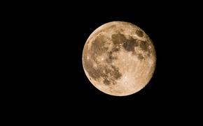 Картинка космос, луна, близко