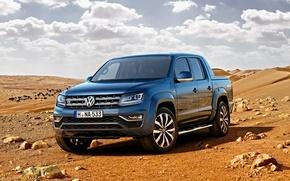 Картинка Volkswagen, пикап, фольксваген, Amarok, амарок
