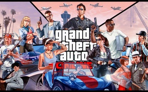 Картинка Rockstar, gta, Grand Theft Auto, Rockstar Games, гта, GTA Online