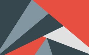Картинка абстракция, геометрия, design, color, material