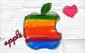 Картинка рисунок, apple, mac