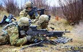 Картинка оружие, солдаты, United States Army