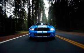 Обои авто, дорога, скорость