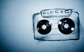 Картинка рисунок, касета, пленка