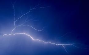 Картинка небо, молния, 150, разряд