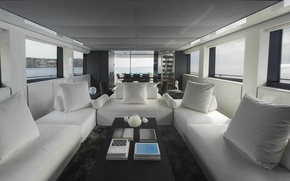 Картинка view, luxury, yacht, salon, motor, Sanlorenzo, SL118