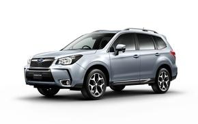 Обои Forester, Subaru, белый фон, субару, форестер