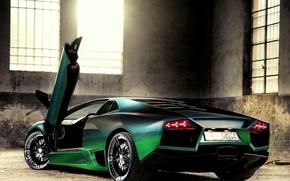 Обои Lamborghini, свет, Ламборджини, окна