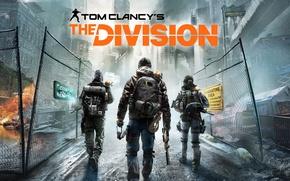 Обои Город, New York City, Оружие, Свет, Ubisoft Entertainment, Апокалипсис, Зима, Нью Йорк, Снег, The Division