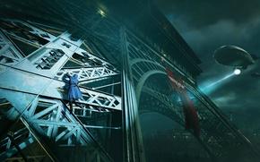 Картинка France, Eiffel Tower, Assassin's Creed: Unity, Arno Dorian
