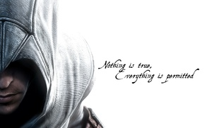 Картинка Assassins Creed, Ubisoft, Assassin's Creed, Альтаир ибн Ла-Ахад, Altair Ibn-La'Ahad
