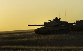 Обои Challenger, танк, оружие