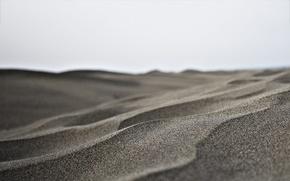 Картинка песок, небо, пустыня